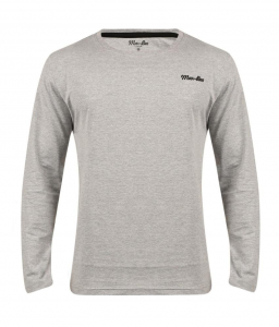 Wholesale Joblot of 10 Mar-Bee London Mens Long Sleeve T-Shirts Grey Sizes S-XL