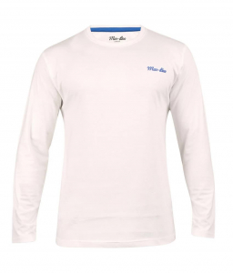 Wholesale Joblot of 10 Mar-Bee London Mens Long Sleeve T-Shirts White S-XXL