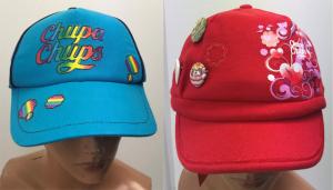 Wholesale Joblot of 10 Chupa Chups Adults Cap Hats 2 Styles