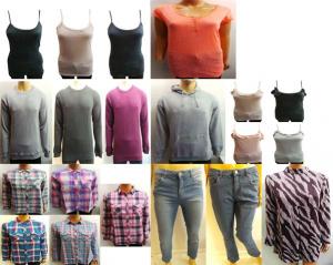 Wholesale Joblot of 500 Assorted Clothing Pieces Mens & Womens Huge Range