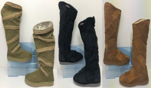 One Off Joblot of 4 Mou Ladies Calf Boots - 4 Styles Mixed Sizes