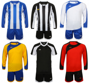 Joblot of 900 Assorted Football Kits - Mixed Styles Adults
