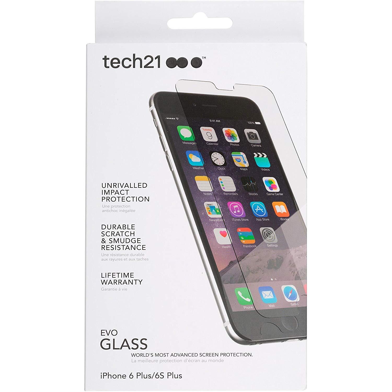 Wholesale Job lot 25 x Genuine TECH21 iPhone 6 Plus / 6S Plus Advanced Glass Screen Protector -  T21-5194
