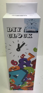 One Off Joblot of 58 Modern DIY Clock Home Decoration