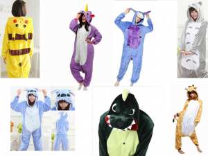 Wholesale Joblot Of 50 Unisex Onesies, Pyjamas, Costumes Animals & Creatures
