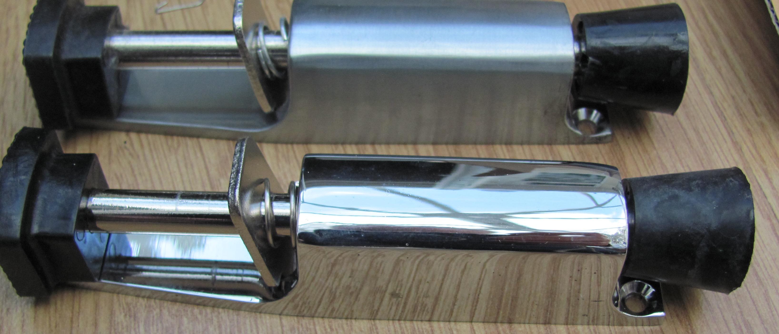 45 x Chrome / Satin chrome Jedo Door holders stops DIY