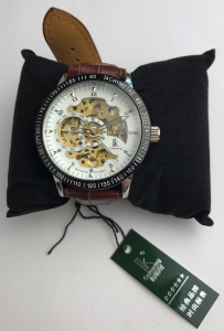 Wholesale Joblot of 10 IK Colouring Mechanical Genuine Leather Watches