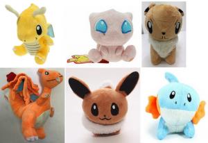 Wholesale Joblot of 20 Pokemon Plush Toys Mixed Designs & Sizes