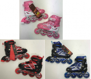Wholesale Joblot of 10 Gosome Roller Skates 3 Colours Majority Sizes 1.5-4