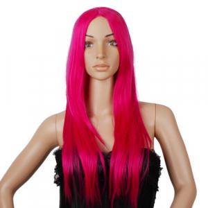 Wholesale Joblot of 20 Reelva Vogue Lady Straight Long Hair Wig-Pink WIGC102