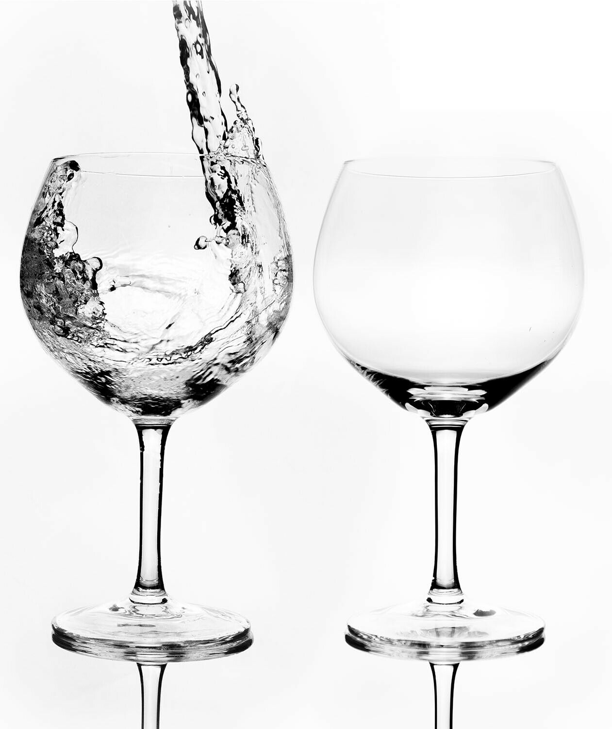 Pack of 2 Glasses that are both stylish and durable.