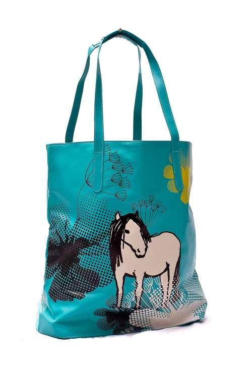 Wholesale box of 24 RSPCA Shoulder/Shopping Bags Horse & Owl Design