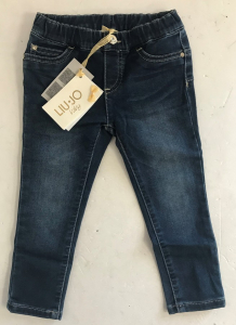 One Off Joblot of 6 Liu Jo Baby/Infants Girls Jeans with Faceted Gem Detail