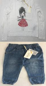One Off Joblot of 7 Liu Jo Girls Trousers & Long Sleeve Tops 2 Styles