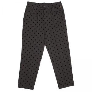 One Off Joblot of 4 Twinset Girls Black Polka Dot Trousers Mixed Sizes