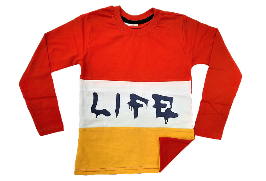 Job Lots of 16x Boys Long Sleeve Shirts / 2 Designs / 2 Colours