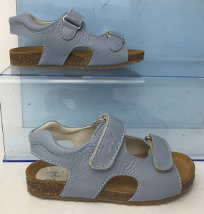 Wholesale Joblot of 4 IL Gufo Childrens Blue Leather Sandals Mixed Sizes