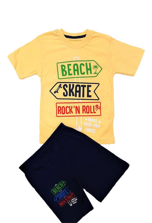 Job Lots of 16x High Quality Boys T-Shirt/Short 2 Pcs Set / 4 Colours / 5y-6y-7y-8y