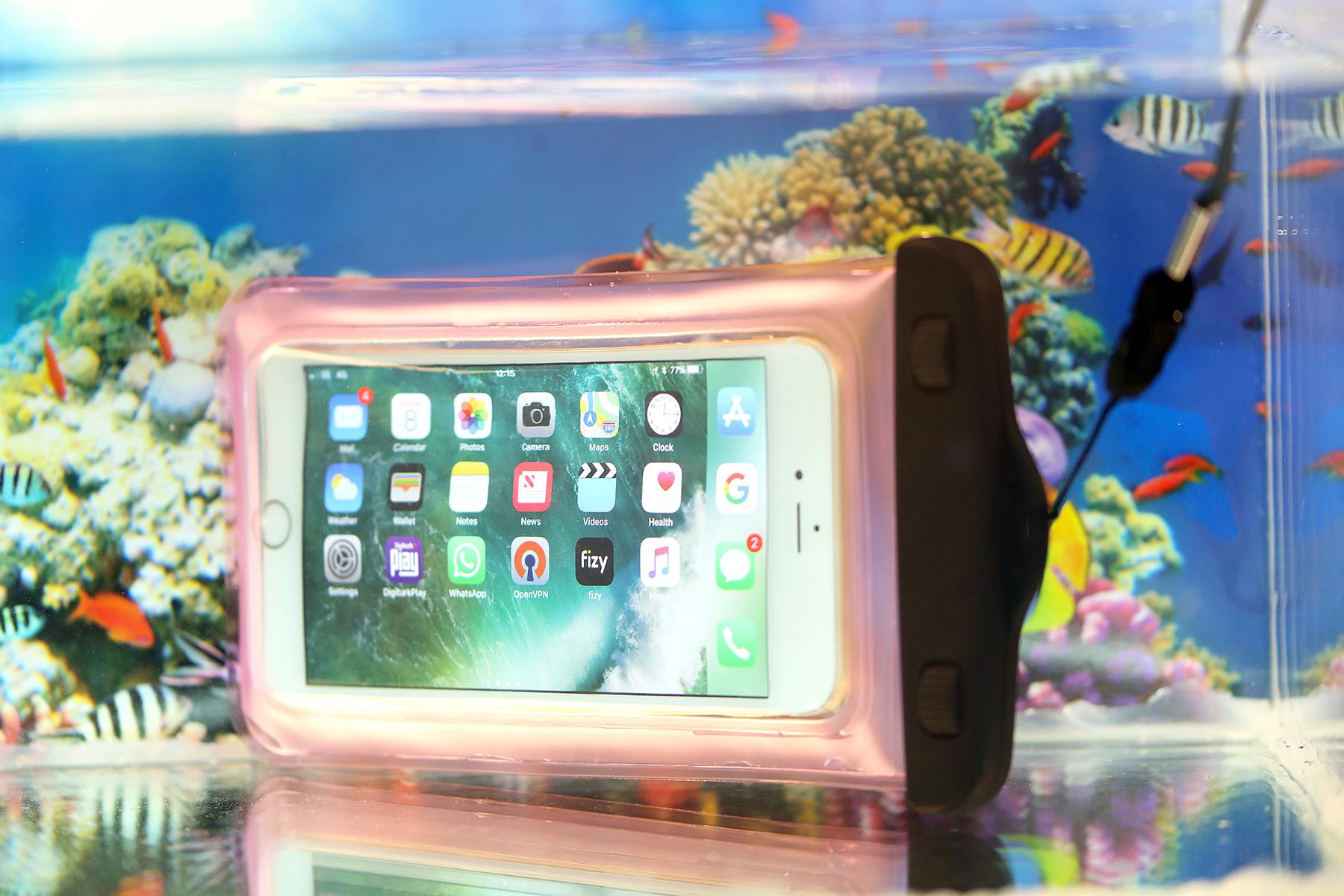 100 x Mix colour Waterproof Aqua Splash Pouch Case
