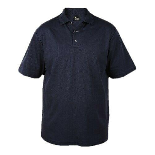 Wholesale Workwear, High Quality Mens Polo shirts- LARGE, XLARGE NAVY , BOX OF 42