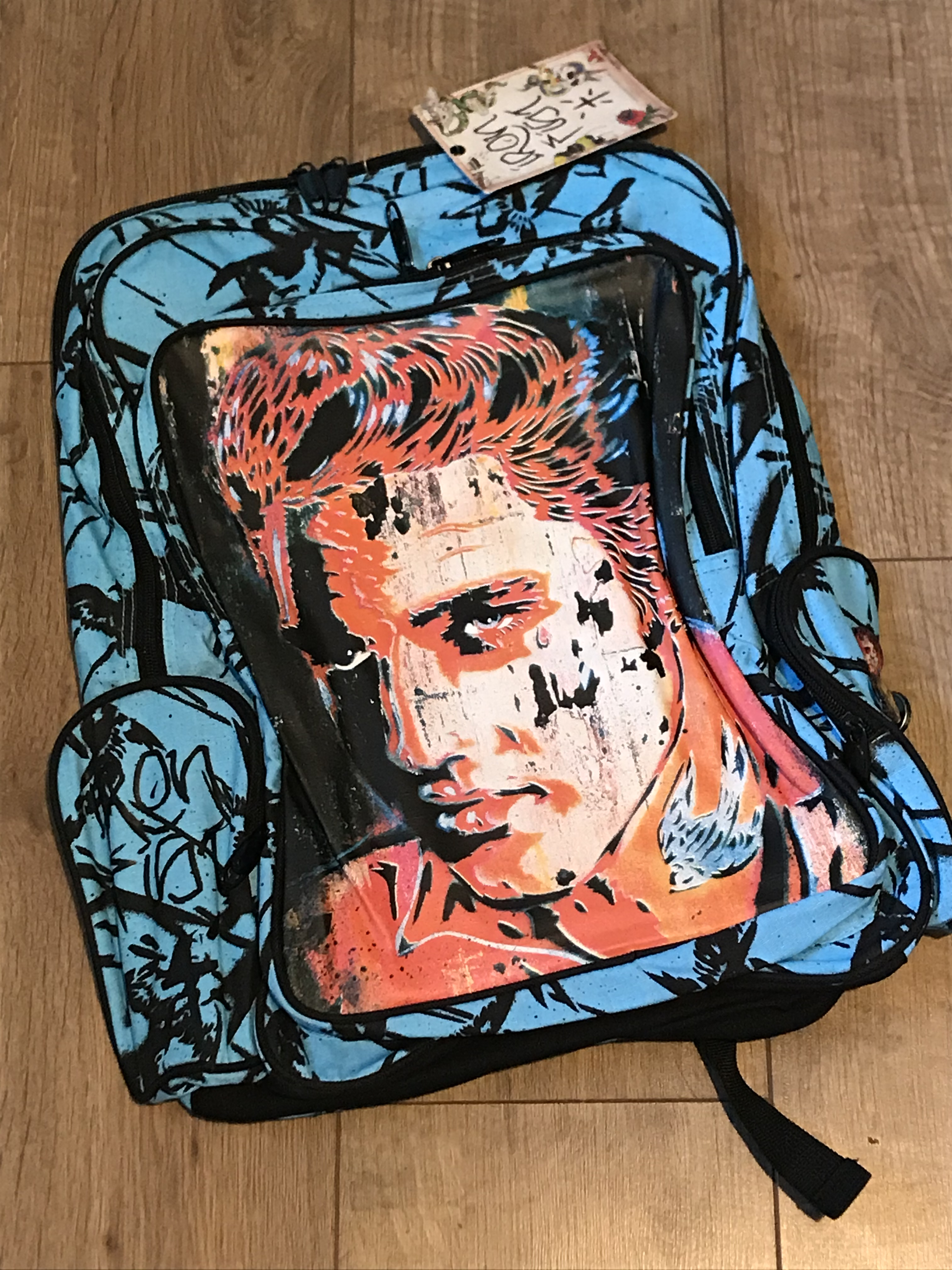IRON FIST ELVIS TAINTED CROWN RUCKSACK X 6