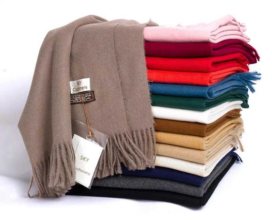 Cashmere blend Scarf with Fine Quality 80 pcs
