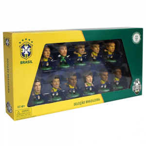 50 Packs Collectable Retro SoccerStarz Brazil Team 11 Figure Pack World Cup 2014