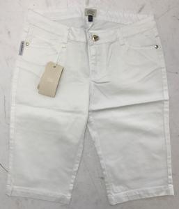 One Off Joblot of 4 Armani Junior Girls White Cotton Shorts Sizes 10-12