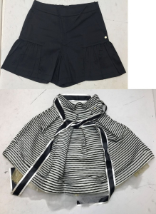 One Off Joblot of 5 Miss Grant Girls Multi-Layer Skirts & Pleat Shorts