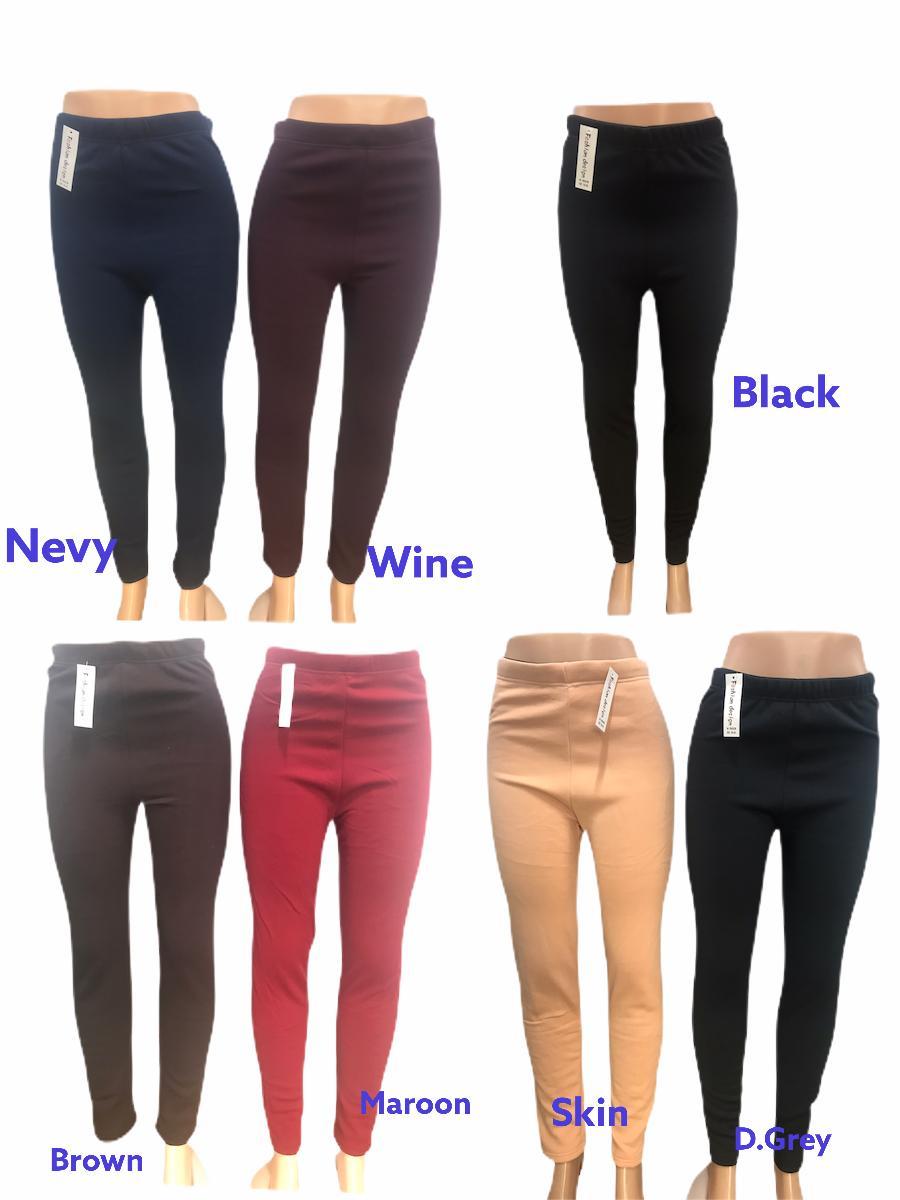 Plus Size Legging Jegging Trouser Fur anti crush joblot 120 pcs