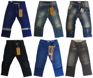 Wholesale Joblot of 10 Scotch Shrunk Boys Jeans Huge Range of Styles 6-9 Years