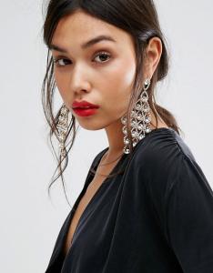 Wholesale Joblot of 20 DesignB London Crystal Chandelier Drop Earrings Gold