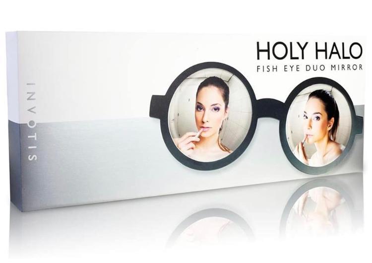 Invotis Holy Halo Fish Eye Duo Mirror