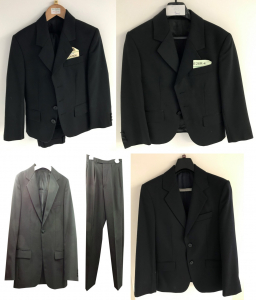 Wholesale Joblot of 20 Boys Suits In Mixed Colours (Blazer & Trousers) Ex Hire