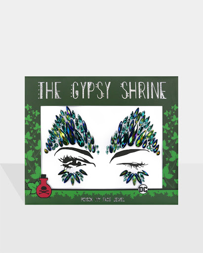 THE GYPSY SHRINE Warner Bros Poison Ivy Face Jewels (30 Units)