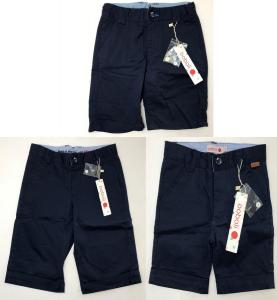 One Off Joblot of 15 Boboli Boys Navy Shorts in 4 Styles Good Range of Sizes