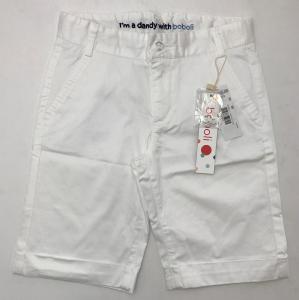 One Off Joblot of 14 Boboli Boys White Shorts in 2 Styles Range of Sizes