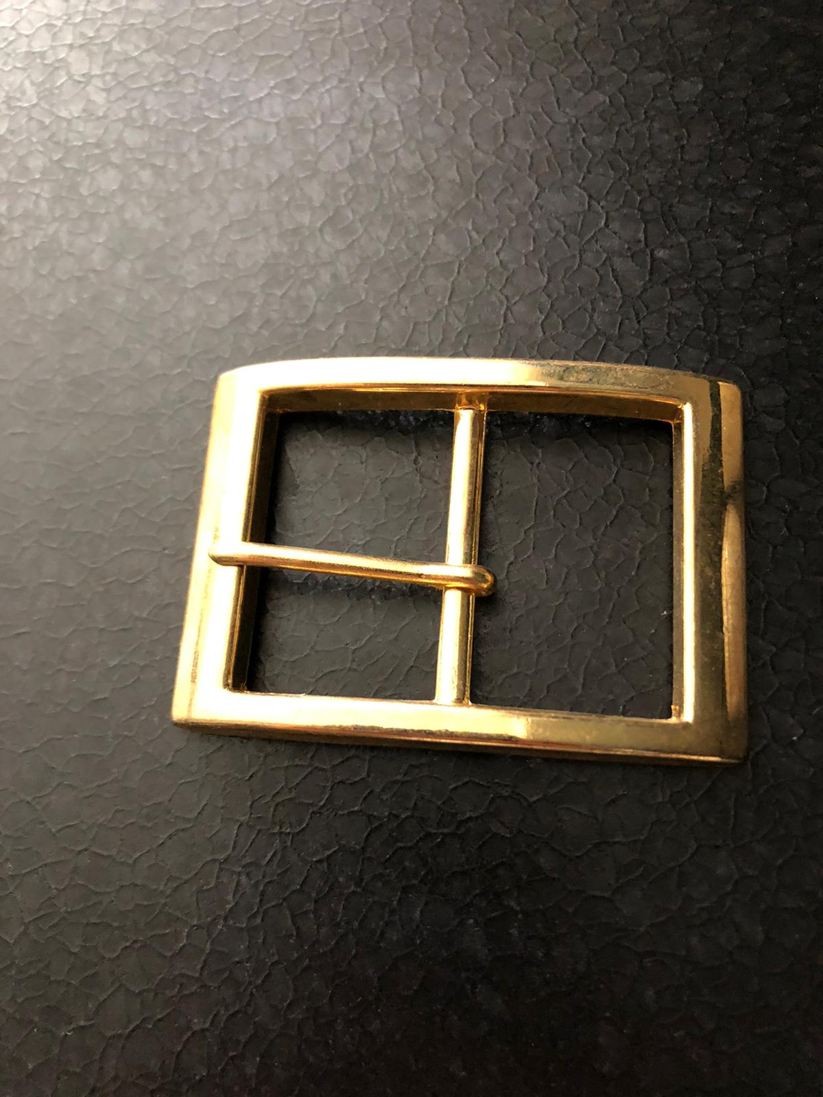 Over 5,000 Classic Brass + Chrome Belt Buckles and Loops