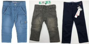 One Off Joblot of 9 Boboli Boys Trousers in 3 Styles Mixed Sizes