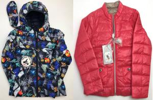One Off Joblot of 5 Childrens Down Jackets in 2 Styles - Jott & Liu Jo