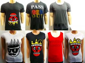 Wholesale Joblot of 20 Disturbing London Mens & Womens T-Shirts & Vests