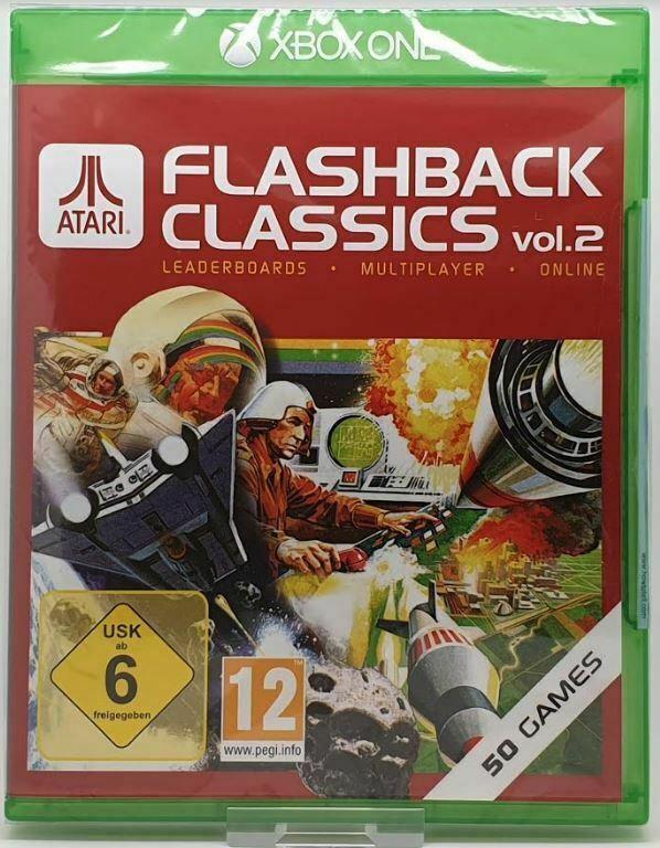 Wholesale Lot of 30 x Atari Flashback Classics Volume 2 Xbox One Video Games