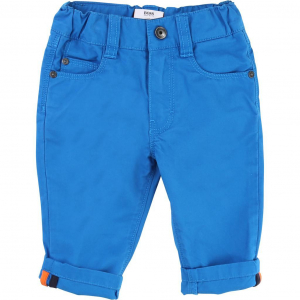 One Off Joblot of 5 Hugo Boss Young Boys Chino Trousers in Blue 6m - 3