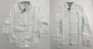 One Off Joblot of 8 Hugo Boss Boys White Dress Shirts in 4 Styles Range of Sizes