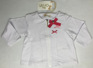 One Off Joblot of 7 Liu Jo Baby Zip-Through Sweater with Bow Detail