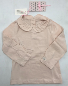 One Off Joblot of 5 Lapin House Girls Baby Pink Blouses Sizes 18m - 6