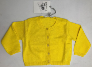 One Off Joblot of 10 IL Gufo Girls Yellow Cardigans 2 Styles Range of Sizes
