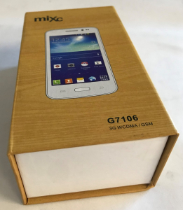 One Off Joblot of 11 Mixc G7106 Android 3G WCDMA/GSM Smartphone White