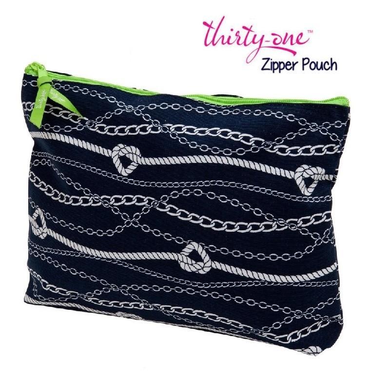 Thirty One Chains Ahoy Wash Bag, Nautical theme