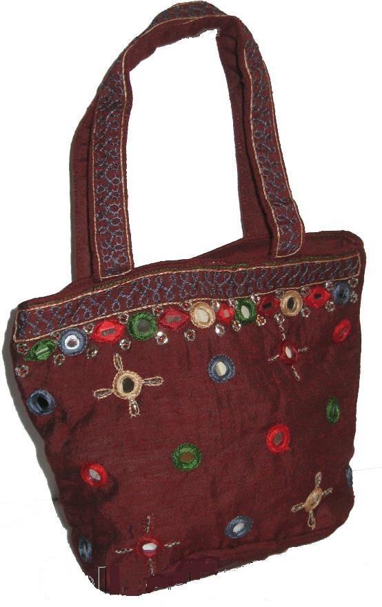 Handmade Ladies Indian Sari Bag